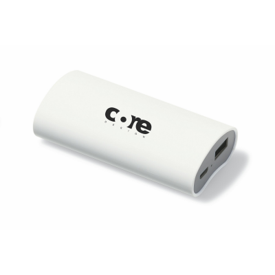 Brookstone® Boost Power Bank 4000 mAh White