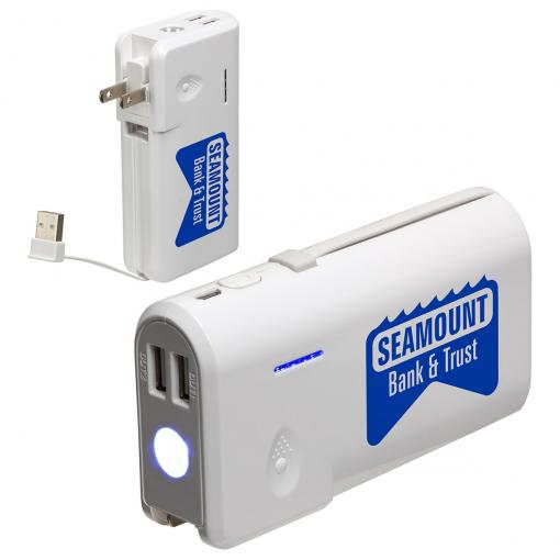 AC-to-USB Multifunction 9000mAh Power Bank