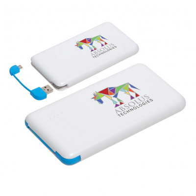 Econo Cable 8000mAh Power Bank