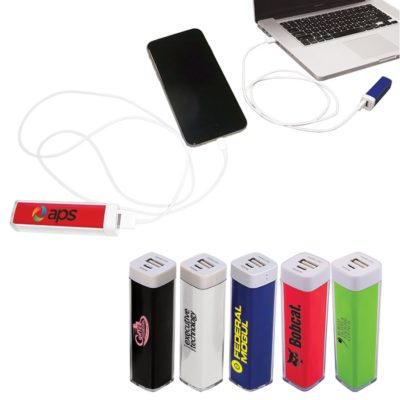 Plastic Mobile Power Bank Charger
