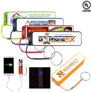 In Charge PB200 UL® 2200 mAh Portable Charger (Full Color)