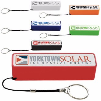 Universal Source™ Keychain Power Bank 2200 mAh