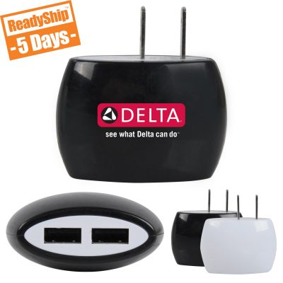 Dual Port Wall Charger LW2