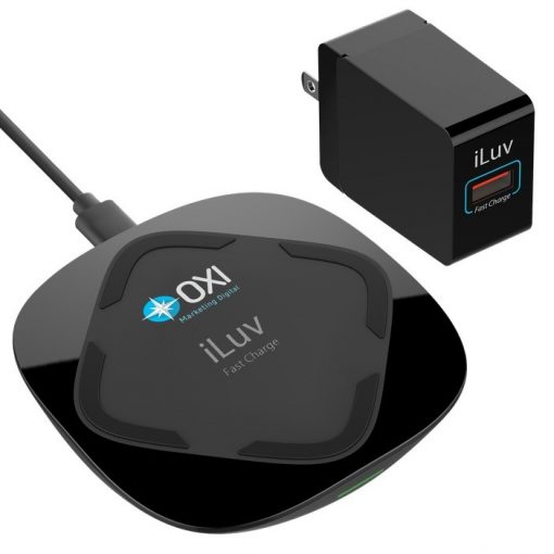 iLuv® 15W Qi Fast Wireless Charger