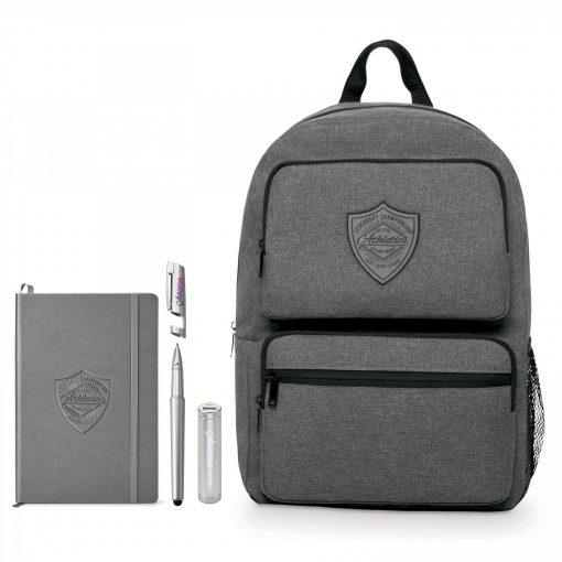 Business Smart Neoskin Dual Pocket Backpack Bundle