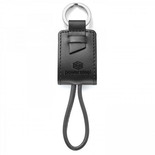 Genuine Leather Key Ring/Charging Kit