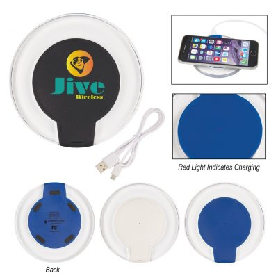 Qi Certified Light Up Wireless Charging Pad