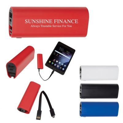 UL Listed Power Bank with Cord Compartment