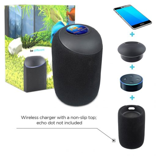 Echo Dot Wireless Bluetooth Speaker & Charger