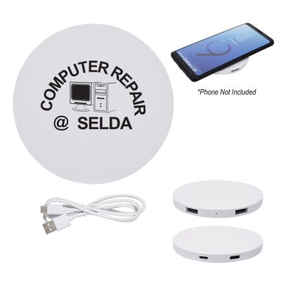 Power Balance Wireless Charging Pad USB Hub