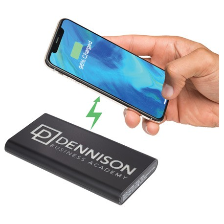 Light Up Logo Wireless Powerbank/2-in-1 Cable
