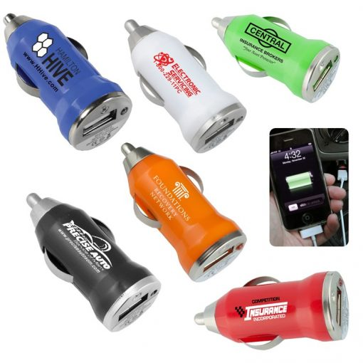 """Vienna"" USB Car Charger & Adapter"