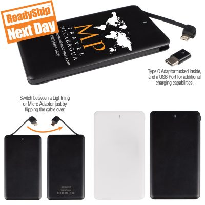 4-in-1 Flip Power Bank
