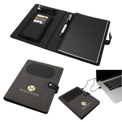 Navigate Notebook w/ Wireless Phone Charger