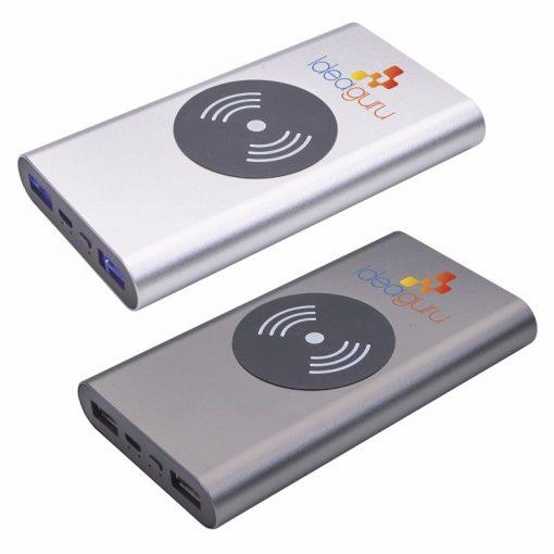 10000 mAh Aluminum HD Wireless Power Bank
