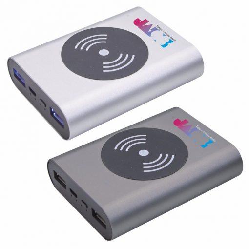 5000 mAh Achilles Aluminum Wireless Power Bank