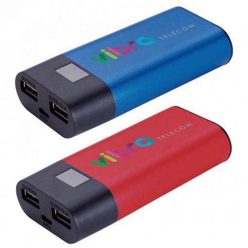 4400 mAh Good Value® Digital Display Aluminum Power Bank