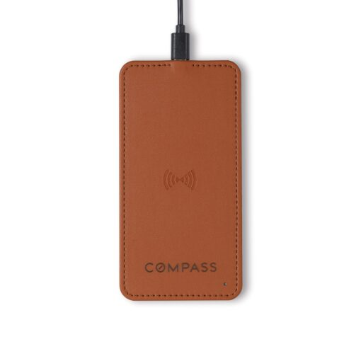 Easton Wireless Charger - Cognac
