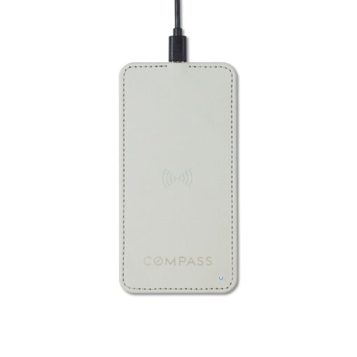 Easton Wireless Charger - Light Grey