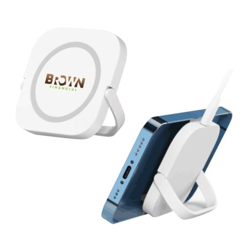 Mag Max Magnetic Wireless Charger With Stand